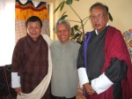 Attending the Gross National Happiness meeting