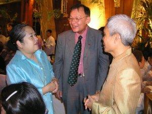 Sombat at Ramon Magsasay Award Ceremony