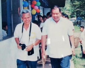 Sombath with Bounyang Vorachit