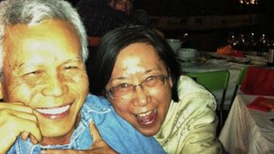 Sombath Somphone was last seen by his wife, Shui-meng Ng, right, in December