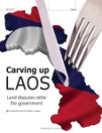 Carving up Laos