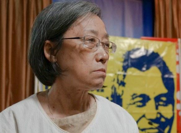 Ng Shui Meng at the Foreign Correspondents Club of Thailand in Bangkok, Dec. 11, 2023. RFA