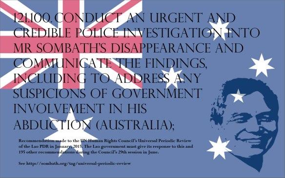 UPR Recommendation-Australia