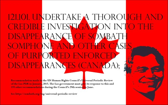 UPR Recommendation-Canada